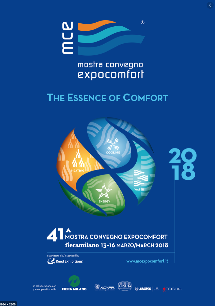 THE ESSENCE OF COMFORT 2018
